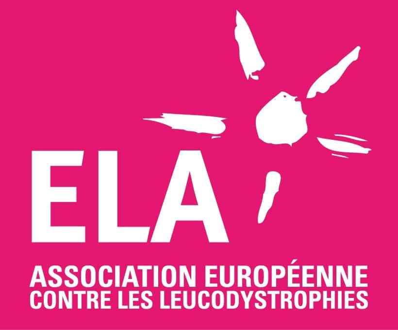 Logo ELA Alain Bernard parrain