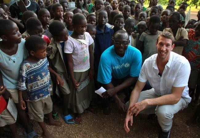 Alain BERNARD, Parrain Nuit de L'Eau UNICEF